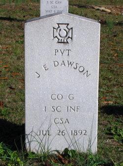 Pvt J. E. Dawson