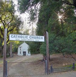Saint Johns Catholic Churchyard