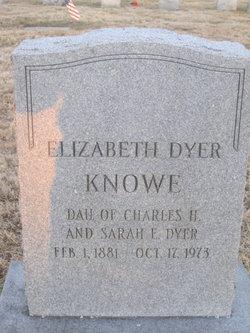 Elizabeth <i>Dyer</i> Knowe