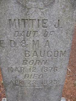Mattie J. Baucom