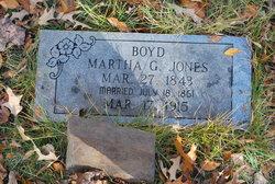Martha Granville <i>Jones</i> Boyd