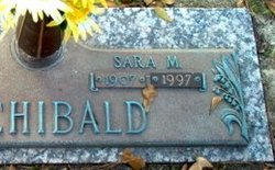 Sara Melzina <i>Wolfe</i> Archibald