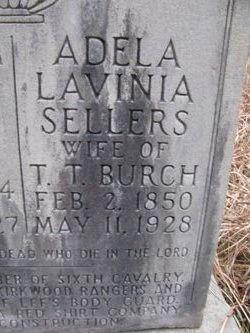 Adela Lavinia <i>Sellers</i> Burch