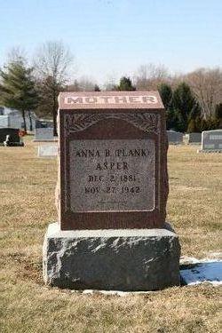 Anna Belle <i>Plank</i> Asper
