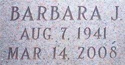 Barbara J <i>Gillespie</i> Cochran