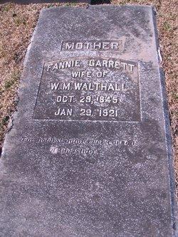 Elizabeth Frances <i>Garrett</i> Walthall