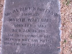 Myrtie <i>Walthall</i> Brittain
