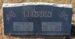 Clarice <i>Cosby</i> Benson