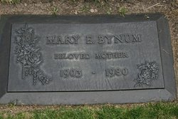 Mrs Mary Ellen <i>Parcell</i> Bynum