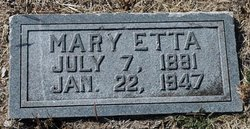 Mary Etta <i>Dallas</i> Bloodworth