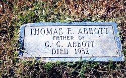 Thomas E. Abbott