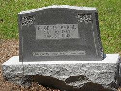 Eugenia Jennie <i>Rodrigers</i> Barge