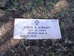 Cecil E Ashley