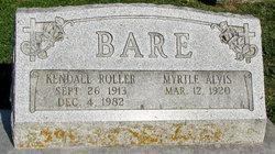 Myrtle Adel <i>Alvis</i> Bare