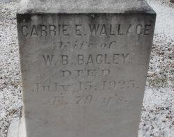 Carrie E. <i>Wallace</i> Bagley