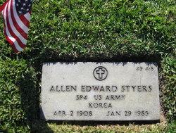 Allen Edward Styers