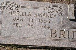 Sirrilla Amanda <i>Lee</i> Brittain