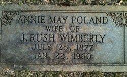 Annie May <i>Poland</i> Wimberly