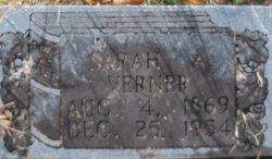 Sarah Ann <i>Trantham</i> Verner