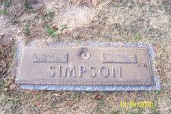 Rhoda Ethel <i>Carter</i> Simpson