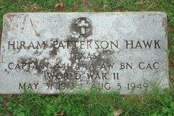 Dr Hiram Patterson Hawk