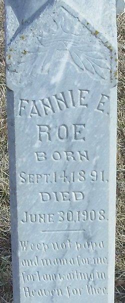 Fannie E Roe