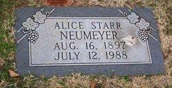 Alice <i>Starr</i> Neumeyer