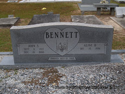 Aline D. <i>Bowen</i> Bennett