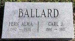 Fern Alma <i>Powell</i> Ballard