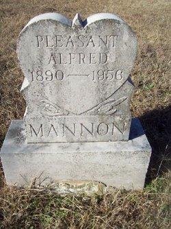 Pleasant Alfred Mannon