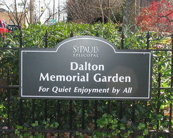 Saint Pauls Episcopal Dalton Memorial Garden