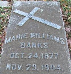 Marie Agnes <i>Williams</i> Banks