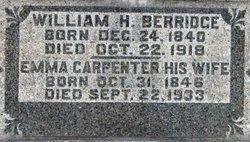 Emma <i>Carpenter</i> Berridge