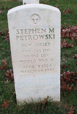 Stephen M Petrowski