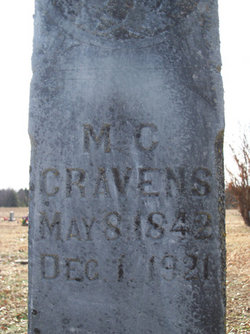 Mary C. <i>Rice</i> Cravens