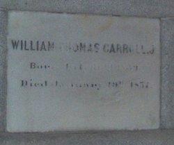 William Thomas Carroll, Jr
