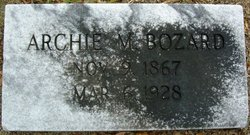 Archie M Bozard