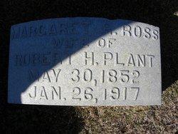 Margaret Redding <i>Ross</i> Plant