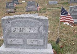 Mary A. <i>Gordon</i> Schmeltzer