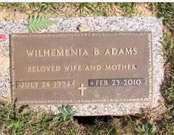 Wilhelmenia <i>Bogan</i> Adams