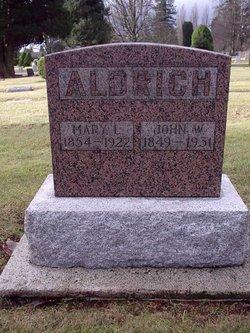 Mary L <i>Gilmore</i> Aldrich