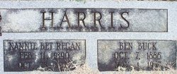 Nannie Bet <i>Regan</i> Harris