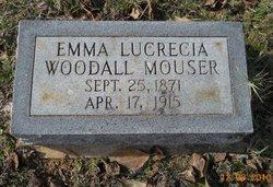 Emma Lucrecia <i>Woodall</i> Mouser