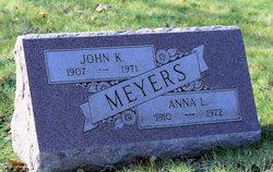 Anna L <i>Bossert</i> Meyers