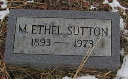 M Ethel Sutton