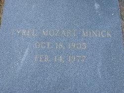 Tyrel Mozart Minick