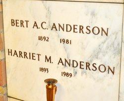 Harriet Mercy <i>Cherry</i> Anderson