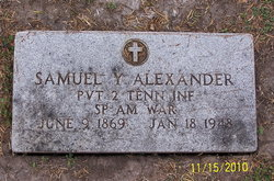 Samuel Yarbrough Alexander, Sr