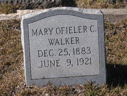 Mary Ofieler <i>Collier</i> Walker