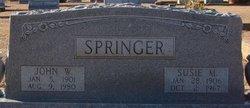 Susie M. <i>Bishop</i> Springer